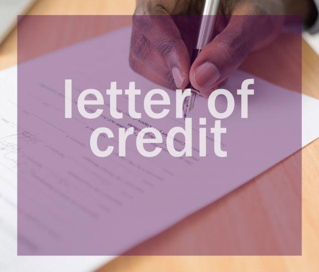 Letter Of Credit atau L/C