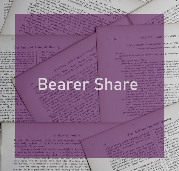 Bearer Share