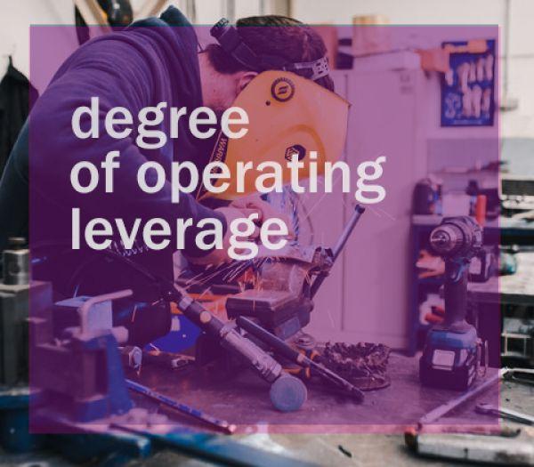 Degree of Operating Leverage atau Leverage Operasi