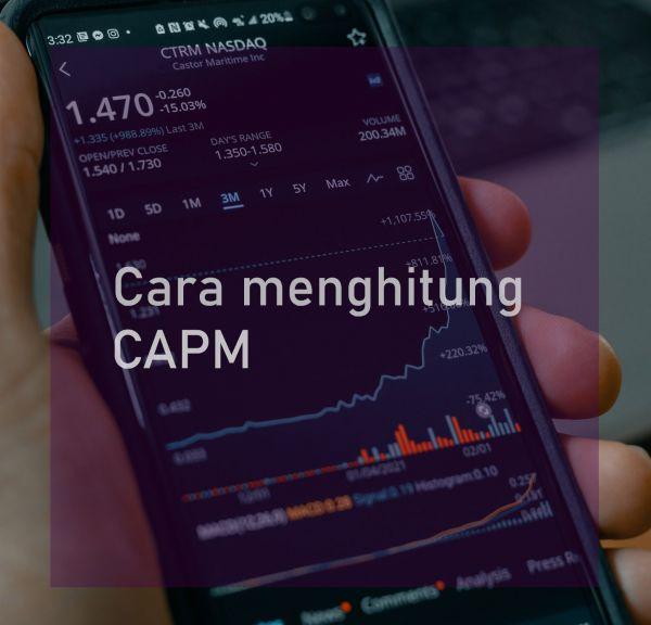 Cara menghitung CAPM
