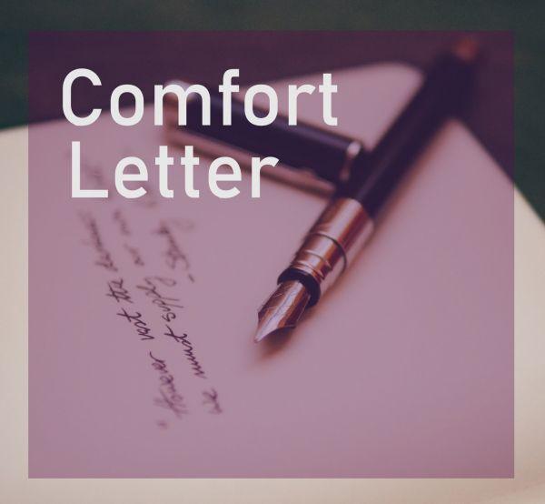 Comfort Letter