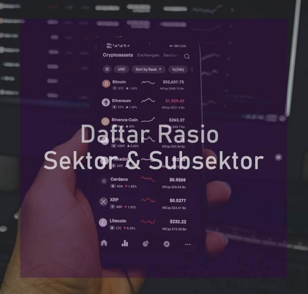 Daftar Rasio Sektor & Subsektor Indonesia